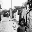 Confused Girl In The Lane @ India