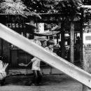 Little Girl On The Slide @ Philippines