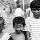 Two Little Boys And An Elderly Boy @ India