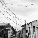 Flat Buildings And Electric Wires @ Philippines