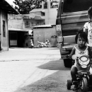 Tricycle And Motorbike @ Philippines