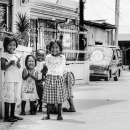 Cheerful Kids By The Wayside @ Philippines