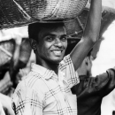 Man With A Big Basket On His Head @ Bangladesh