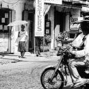 Woman At The Other End Of The Street  @ Philippines