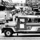Jeepney Running The Slope