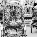 Decorative Cycle Rickshaws @ Bangladesh