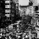 Trafficky Street In Dhaka @ Bangladesh