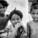 Three Girls With Short Hair @ Bangladesh