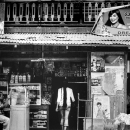Long-haired Woman Stepping Inside A Store @ Philippines