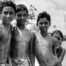 Three Boys And A Bashful Girl @ Bangladesh