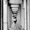 Woman In The Passageway @ Malaysia