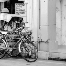 Trishaw Parked By The Roadside @ Malaysia