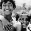 Three Boys Were All Smiles @ Bangladesh