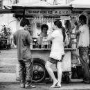 Tea Stand By The Roadside @ Malaysia