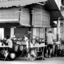People At A Food Stall @ Malaysia