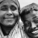 Faces Of A Mother And Her Son @ Bangladesh