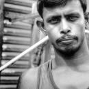 Pouty Man With Stubble @ Bangladesh