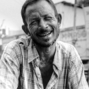 Smile Wrinkles Of A Man @ Bangladesh