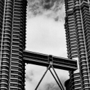 Petronas Towers And Cloud