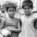 Two Boys And A Plastic Bag @ Bangladesh