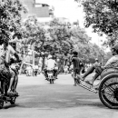 Motorbike And Cyclo @ Vietnam