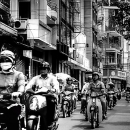 Motor Scooters And Motor Bikes @ Vietnam