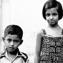 Boy And Girl Standing In Front Of Me @ Bangladesh