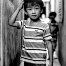 Boy Wearing A Lacoste's Shirt @ Vietnam