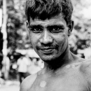 Timid Face Of A Blue-collar Worker @ Bangladesh
