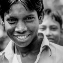 Roguish Grin Of A Young Man @ Bangladesh
