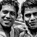 Two Men Smiling Together @ Bangladesh
