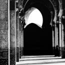 Pillars And Shadows In The Mosque