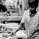 Young Man Selling Sweets @ Bangladesh