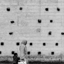 Holes On The Wall And Pedestrians @ Morocco