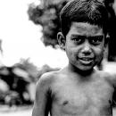 Grown-up Face Of A Boy