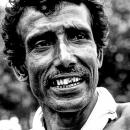Rickshaw Wallah With A Gray Mustache