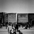 Bootblack In El Hedim Square