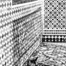 Tiled Patterns And A Cat