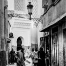 Alleyway With A View Of A Minaret