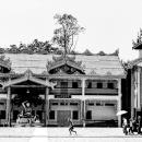 Family Walking The Precinct @ Myanmar