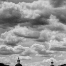 Clouds Above The City Of Tlaxcala