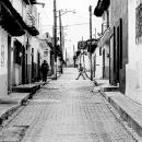 Tranquil Road In San Cristobal De Las Casas