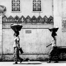 Two Women And Two Baskets @ Myanmar
