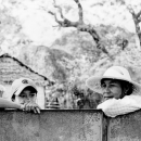Cap And Hat Against The Fence @ Myanmar