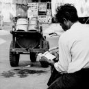 He Always Had Time For Reading Books @ Myanmar
