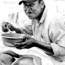 Man Stuffing His Mouth @ Myanmar