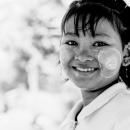 Circle On Her Plumped Cheeks @ Myanmar