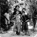Kids In The Middle Of An Unpaved Road @ Myanmar