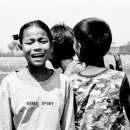 Singing Girl And Clapping Boys @ Myanmar