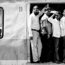 Passengers On The Train @ India
